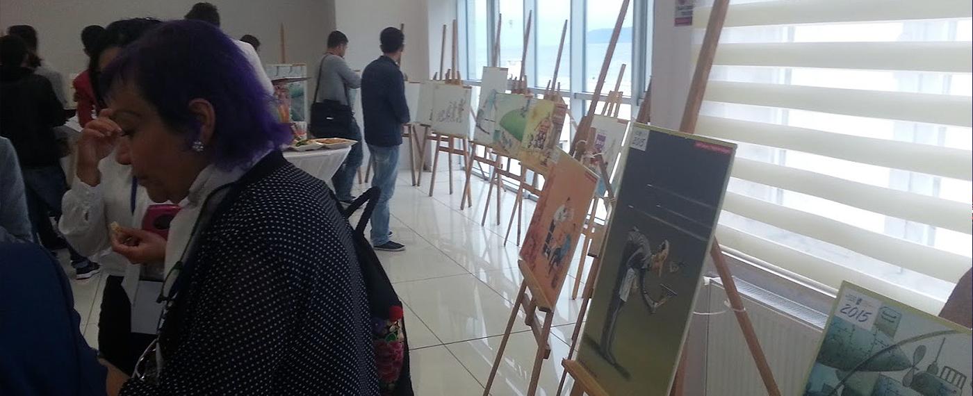 7. Uluslararası Turizm Karikatürleri Yarışması Sergisi