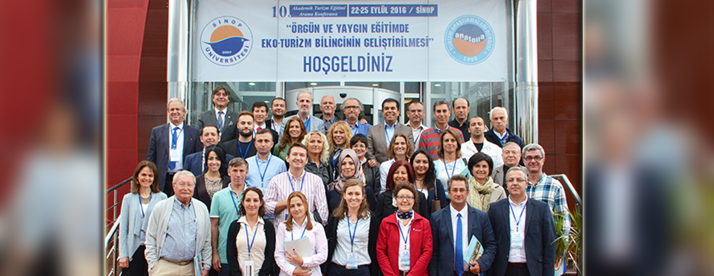 X. Konferans - Sinop, 22 - 25 Eylül 2016