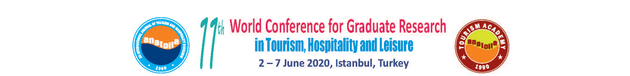11th World Conference for Graduate Research in Tourism, Hospitality  Leisure