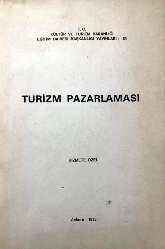 Turizm Pazarlaması Kitap Kapağı