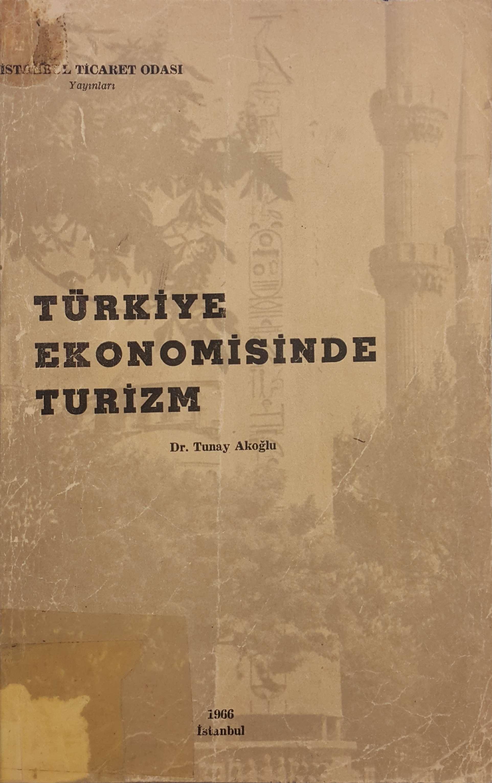 Türkiye Ekonomisinde Turizm Kitap Kapağı