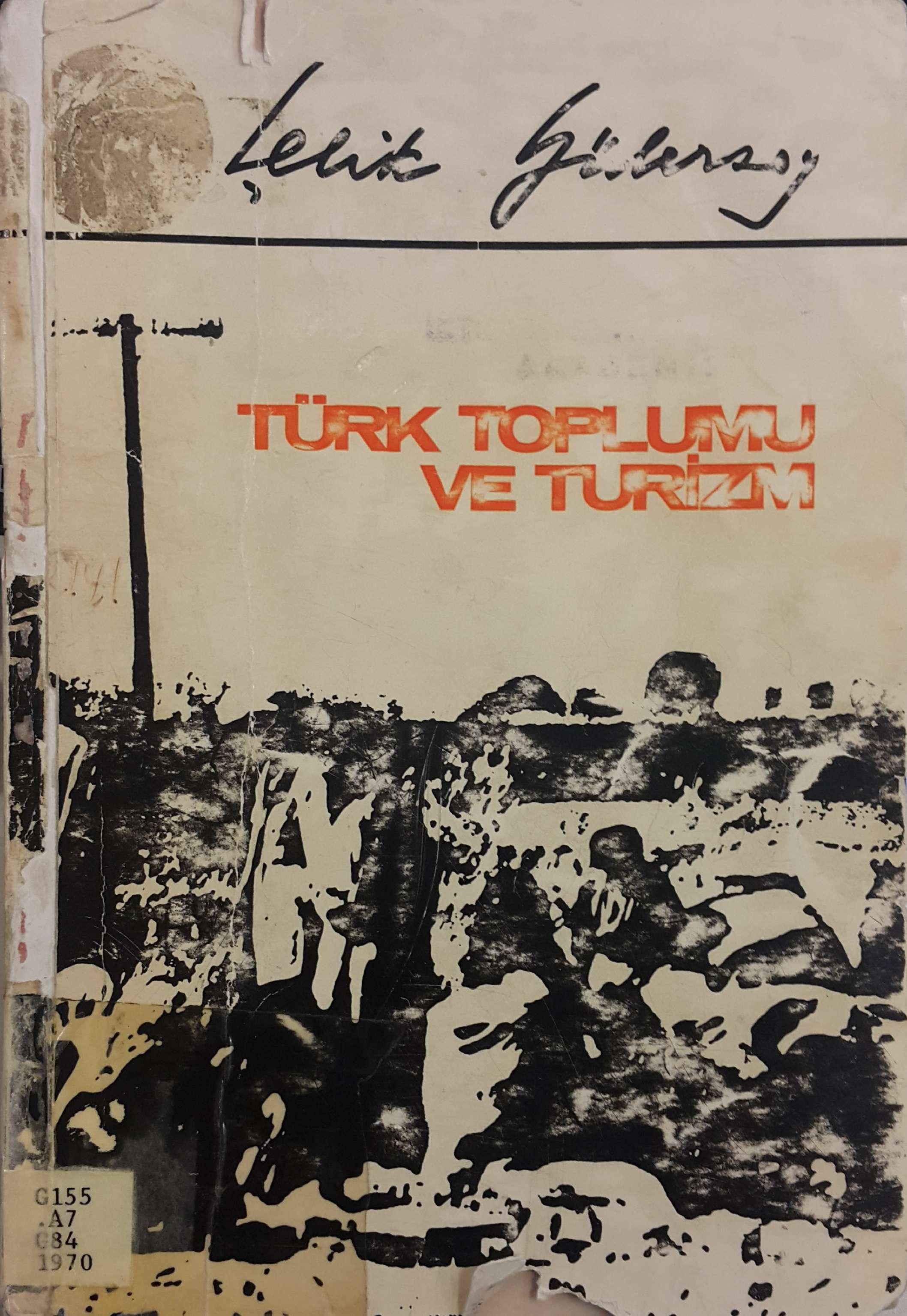 Türk Toplumu ve Turizm Kitap Kapağı