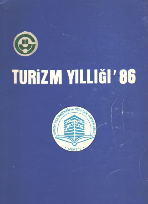 Mersin Turizm Yıllığı '86 Kitap Kapağı