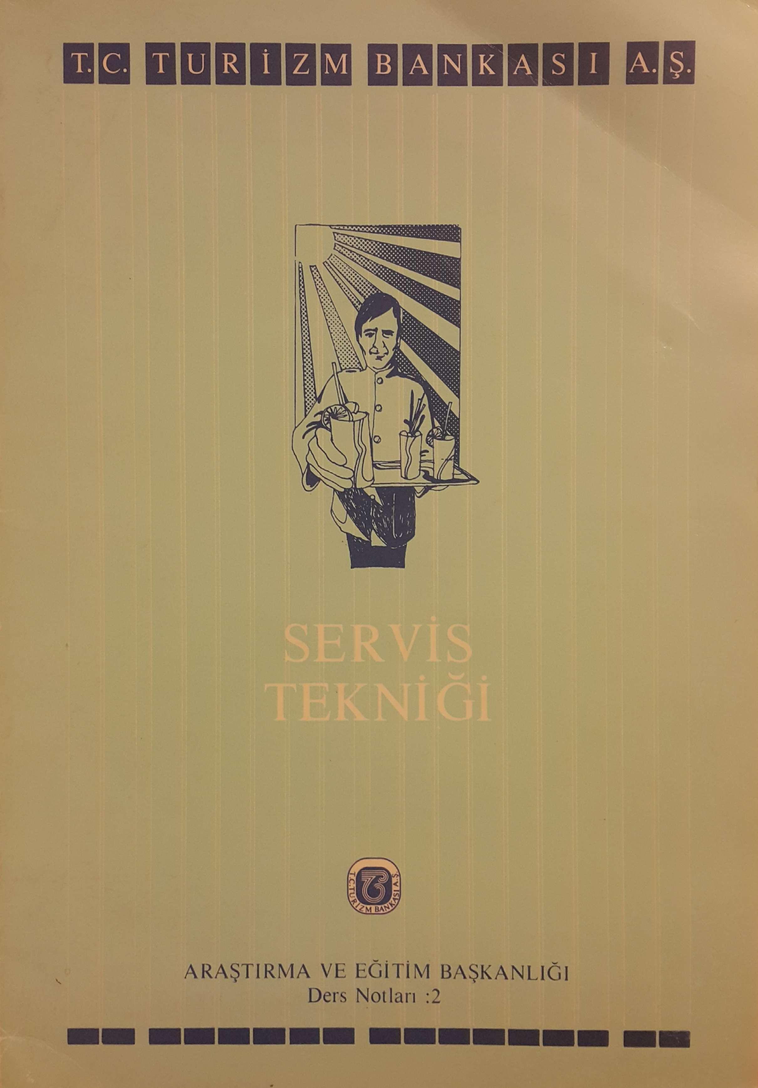Servis Tekniği Kitap Kapağı