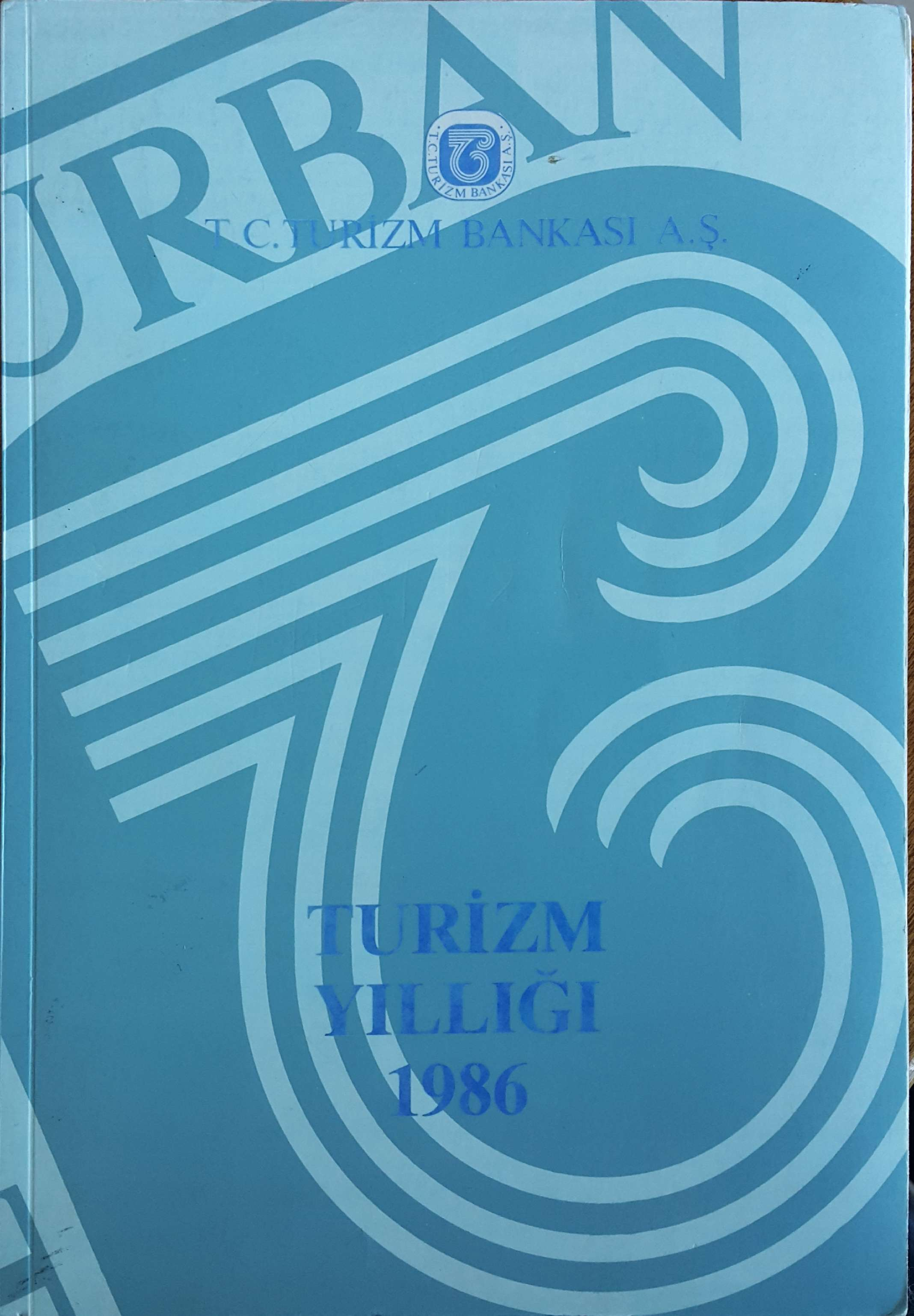 Turizm Yıllığı 1986 Kitap Kapağı
