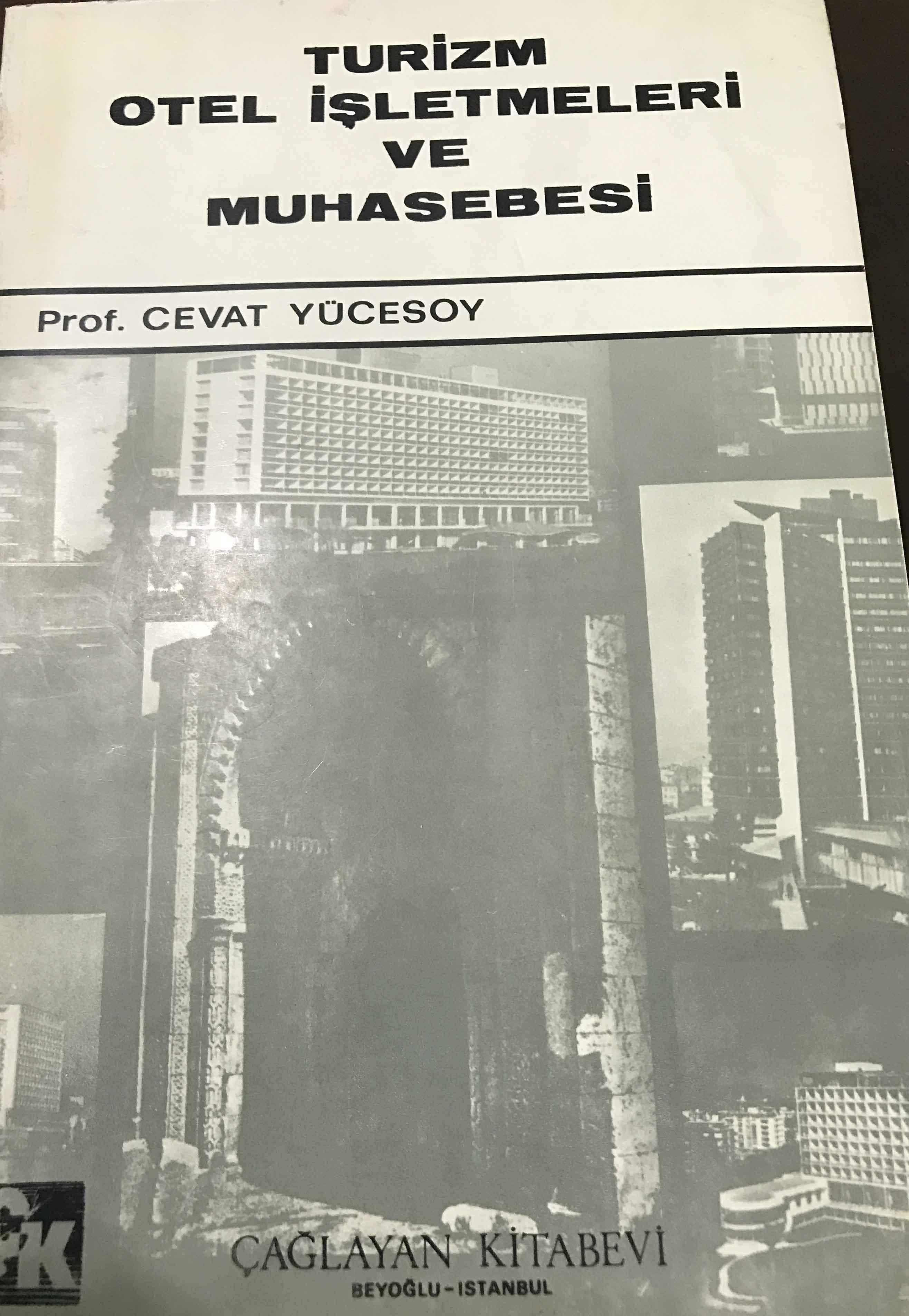 Turizm Otel İşletmeleri ve Muhasebesi Kitap Kapağı