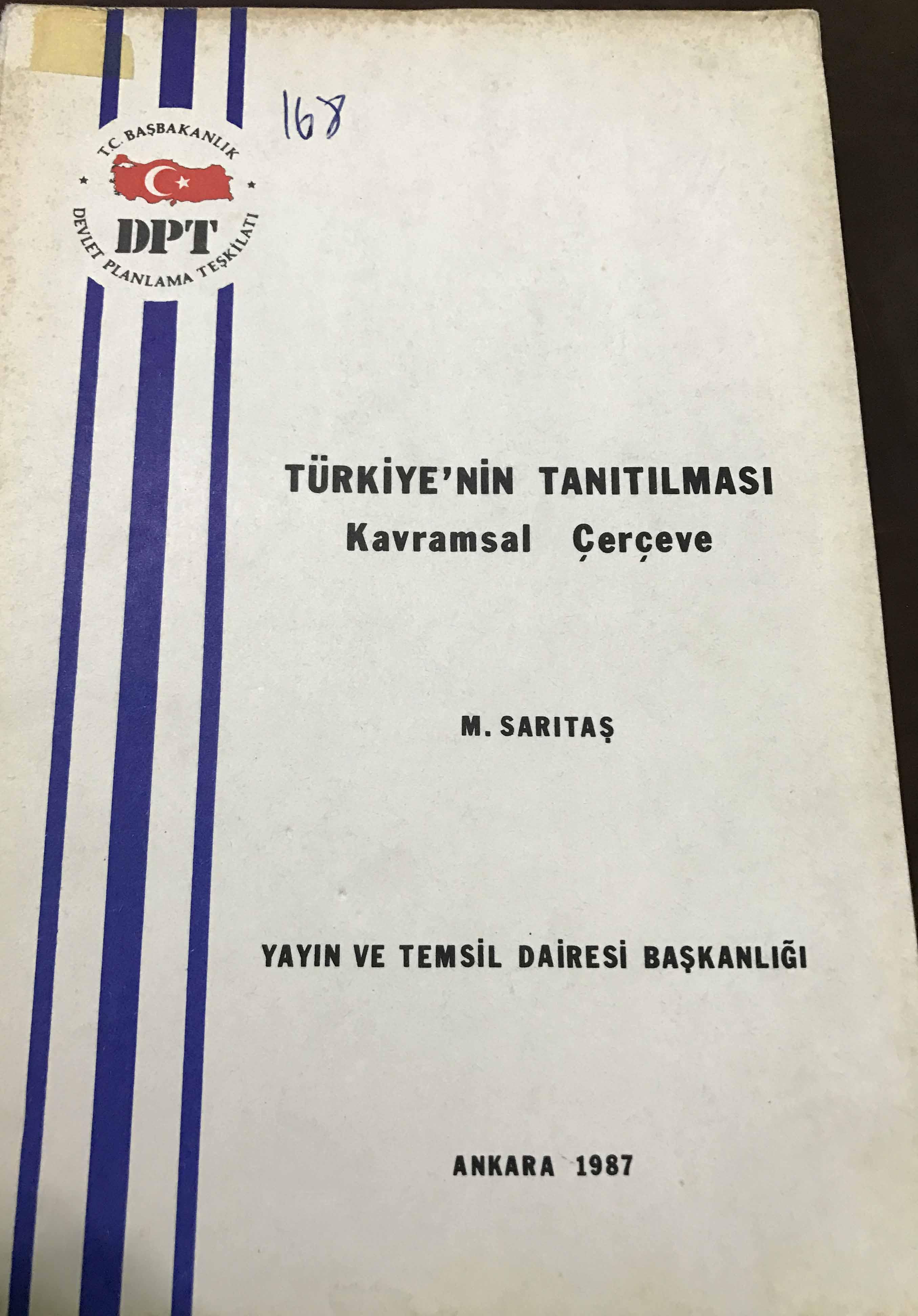 Türkiye'nin Tanıtılması: Kavramsal Çerçeve Kitap Kapağı