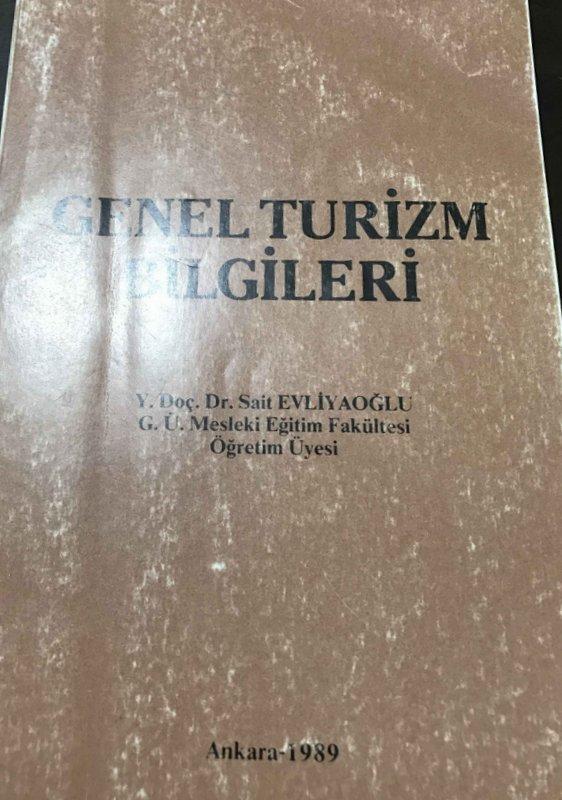 Genel Turizm Bilgileri Kitap Kapağı
