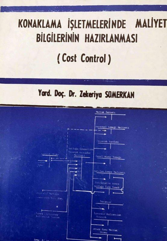 Konaklama İşletmelerinde Maliyet Bilgilerinin Hazırlanması Kitap Kapağı