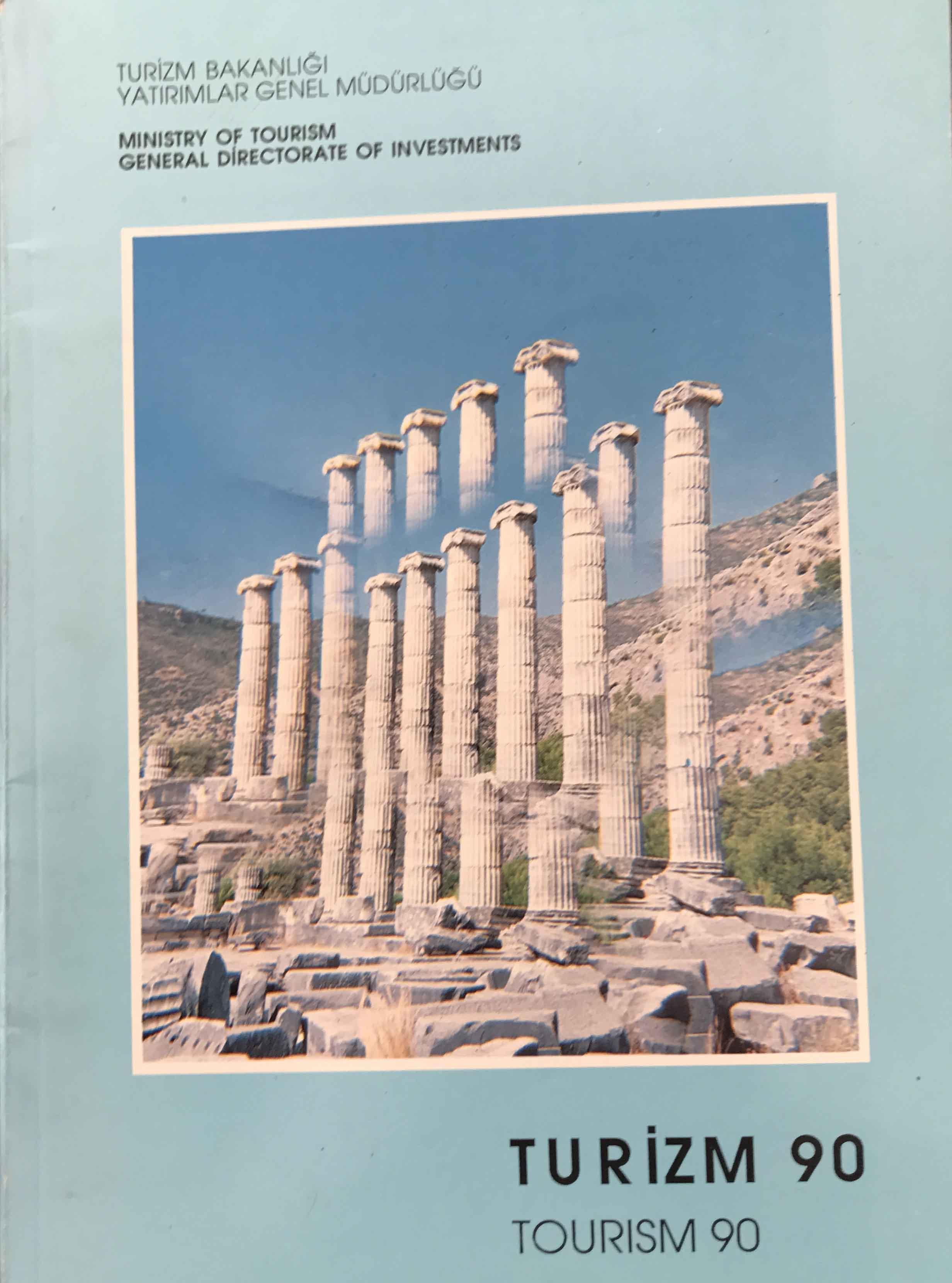 Turizm 90 Kitap Kapağı