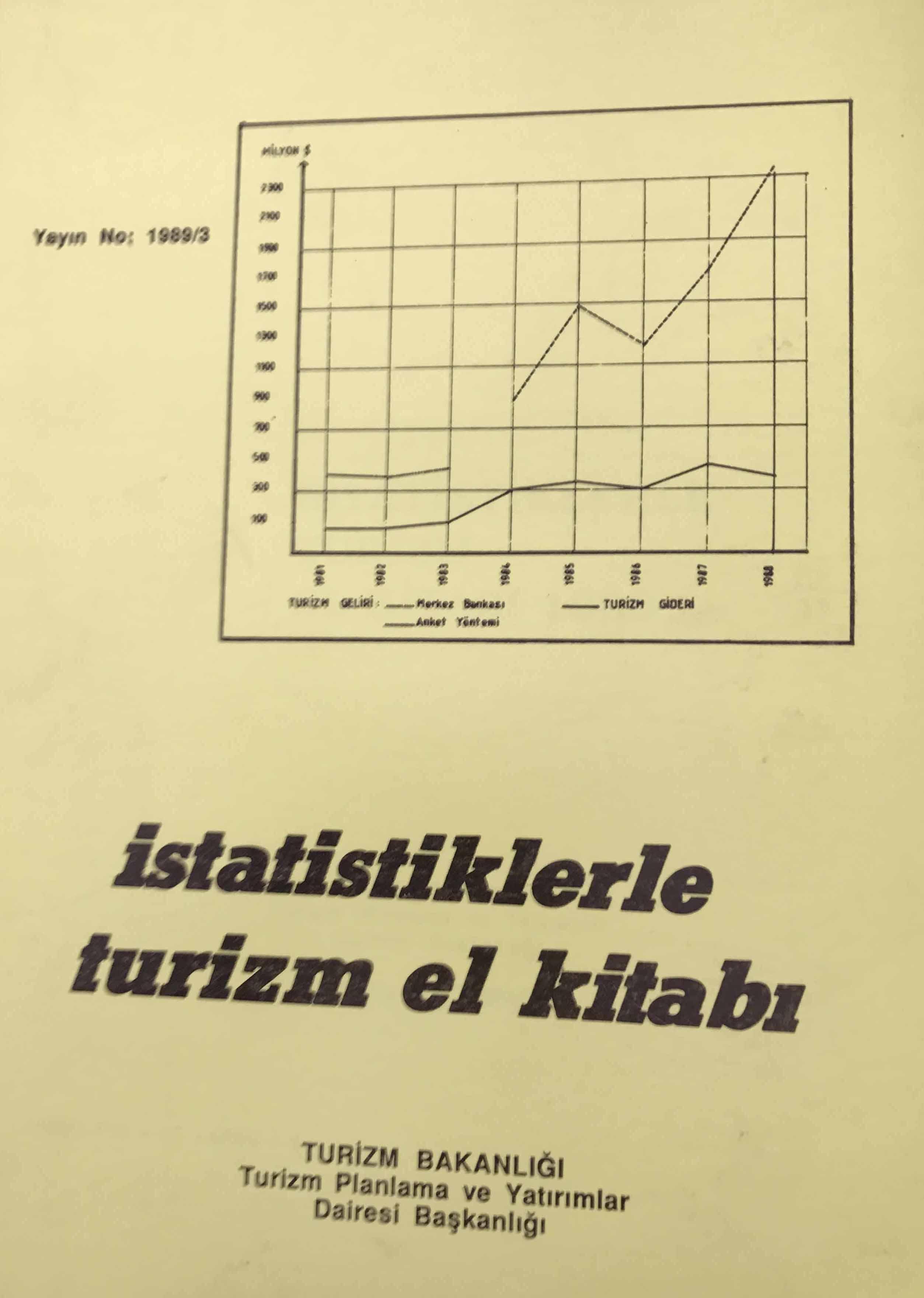 İstatistiklerle Turizm El Kitabı Kitap Kapağı